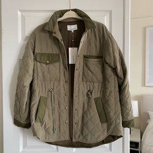 Padded heartloom utility jacket